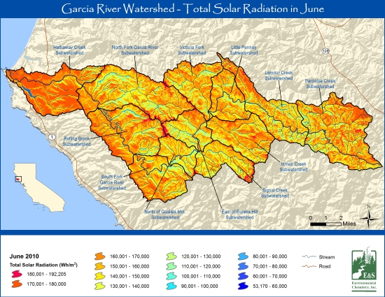 GIS Projects on the Garcia River